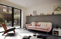 Living spaces open out to small courtyards
