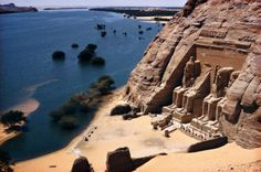 The temple of Abu Simbel was built after the mega drought observed in the geological records