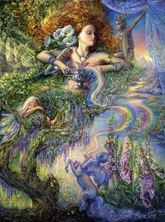 'Enchantment' by Josephine Wall.