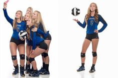 I recently had the opportunity to photograph the senior members of the Fort Wayne Carroll volleyball team.  We tried some fun ideas and the photos turned out really nice.