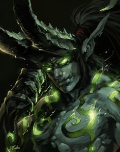 WoW Illidan Stormrage Super cool World of Warcraft Horde photos