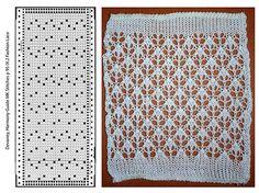 Beautiful machine knit lace