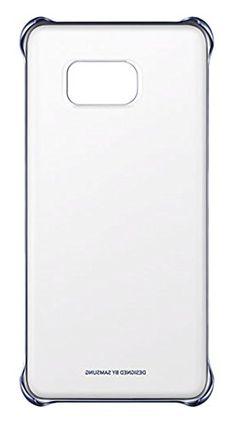 Samsung Clear Cover - Funda oficial para Samsung Galaxy S6 Edge +, color negro azulado - http://www.tiendasmoviles.net/2016/10/samsung-clear-cover-funda-oficial-para-samsung-galaxy-s6-edge-color-negro-azulado/