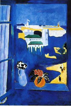Henri Matisse - Landscape vieved from a window, 1913.