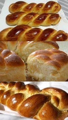 Bread Recipes, Vegan Recipes, Bread Art, Good Food, Yummy Food, Sweet Bread, Easy Cooking, Pain, No Cook Meals