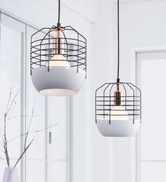 Pendants & Chandeliers : Zuo Modern: Chill Ceiling Light at Lofty Ambitions Cool Lighting, Modern Lighting, Lighting Design, Pendant Lighting, Cage Light, Luminaire Design, Home And Deco, Interior Lighting, Home Interior