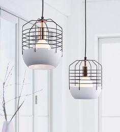 Chill Ceiling Lamp White & Black