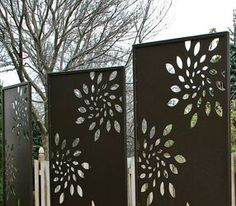 Metal Privacy Screen metal privacy screen with own design | my creations | pinterest