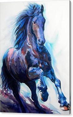 Horse Drawings, Animal Drawings, Art Drawings, Drawing Drawing, Horse Artwork, Watercolor Horse, Animal Paintings, Horse Paintings, Equine Art