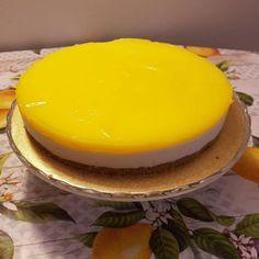 Nepečený citrónový cheesecake , Koláče, recept | Naničmama.sk No Bake Desserts, Baking, Cake, Food, Pie Cake, Pastel, Meal, Patisserie, Backen