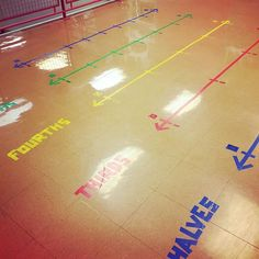 Equivalent fractions have never been so fun! Kids were seriously loving walking from line to line to find equivalent fractions during math… 3rd Grade Fractions, Teaching Fractions, Fifth Grade Math, Equivalent Fractions, Math Fractions, Teaching Math, Dividing Fractions, Math Math, Multiplication