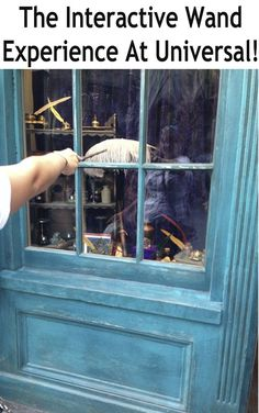 Harry Potter Interactive Wand Experience - Universal Studios Orlando - Travel with the Magic - Amy@TravelWithTheMagic.com