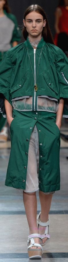 Sacai Collection Spring 2014 Ready-to-Wear