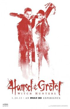Hansel and Gretel: Witch Hunters (2013, IMAX give-away)