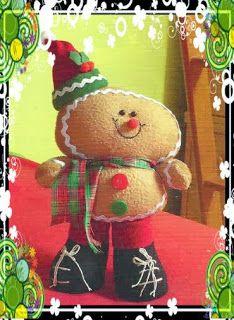 Moldes de bonito galleta navideña ~ lodijoella