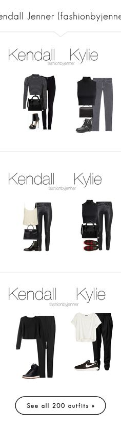 """Kendall Jenner (fashionbyjenner)"" by toni-todorova ❤ liked on Polyvore featuring Lee, Sandro, H&M, Victoria's Secret, Topshop, Ruthie Davis, Zara, The Row, Yves Saint Laurent and Hermès"