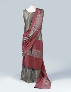"Evening Dress ""Lure,"" by Paul Poiret, c. 1924, Beaussant Lefèvre. From the personal wardrobe of Denise Boulet-Poiret."