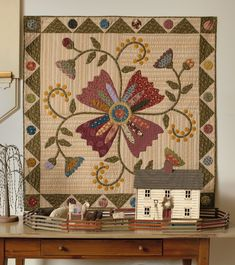 Simple Graces: Charming Quilts and Companion Projects (That Patchwork Place) Primitive Quilts, Antique Quilts, Wool Quilts, Barn Quilts, Appliqué Quilts, Small Quilts, Mini Quilts, Quilting Projects, Quilting Designs