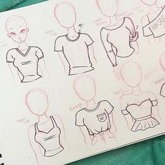 first shirt drawing tutorial y'all!✨Not gon lie this was definitely a cha My first shirt drawing tutorial y'all!✨Not gon lie this was definitely a cha. My first shirt drawing tutorial y'all!✨Not gon lie this was definitely a cha. Pencil Art Drawings, Art Drawings Sketches, Fantasy Drawings, Girl Drawings, Art Reference Poses, Drawing Reference, Design Reference, Drawing Techniques, Drawing Tips