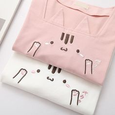 Anna thevessen annathevessen on pinterest pinkwhite cat t shirt se10103 coupon code cutekawaii fandeluxe Choice Image