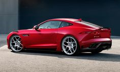 Red 2016 Jaguar F-TYPE R With soaring performance, the F-TYPE R Coupe offers outstanding levels of dynamic capability and control. Its 5.0 liter supercharged V8 engine produces 550 horsepower, accelerating from 0-60 mph in just 3.9 seconds.