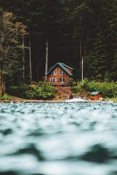 cabin on a lake | where I want to be