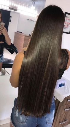 If your query is How to naturally straighten hair, my today's post is for you, Here I tried to explain about two big natural hair straightening methods. Just keep reading to learn more about hair straightening. Beautiful Long Hair, Gorgeous Hair, Curly Hair Styles, Natural Hair Styles, Updo Styles, Super Long Hair, Trending Hairstyles, Silky Hair, Ombre Hair