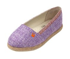 Hemp Cloth, Watercolor Slip-ons in Violet, These look so cozy, love the color! $44