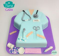 Torta Enfermera - Nursing cake by Giovanna Carrillo