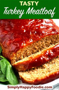 Tasty Turkey Meatloaf is flavorful and juicy. The best turkey meatloaf recipe Ive eaten! Easy to make and the family wil Southern Meatloaf Recipe, Best Easy Meatloaf Recipe, Homemade Meatloaf, Meat Loaf Recipe Easy, Best Meatloaf, Turkey Meatloaf, Meatloaf Recipes, Meatloaf Recipe With Worcestershire, Italian Meatloaf