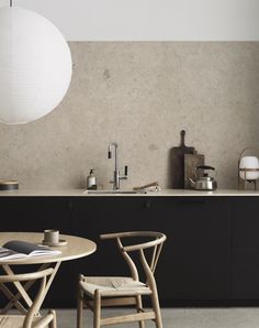 Scandinavian minimalist kitchen by Pella Hedeby for Bricmate