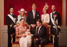 Kungligt dop - familjefoto