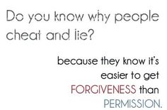 many times forgive cheater
