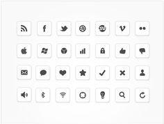 minimal icon set by design deck