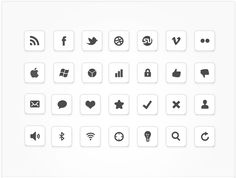 IC Minimal Icon Set by design deck  http://www.designdeck.co.uk/a/246#