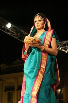 Tootli Rahman by olive witch, via Flickr #Bangladesh #sari #weddingsari