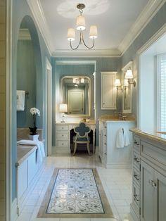 Arched Bathtub Alcove - Traditional - bathroom - Jeannie Balsam