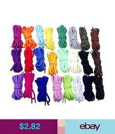"""Shoelaces Round Shoelaces Shoe Lace For Athletic Sport Hiking Work Boots Sneaker 90Cm/35"""" #ebay #Fashion"""
