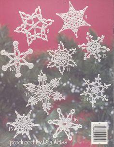 Snowflakes Crochet Patterns Christmas