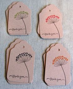 handmade tags Ideas Craft Paper Label Gift Tags For 2019 Handmade Gift Tags, Diy Gift Tags, Gift Labels, Label Tag, Handmade Thank You Cards, Jar Labels, Handmade Products, Christmas Tag, Christmas Wrapping