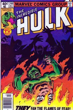 The Incredible Hulk August, 1978 Allen Milgrom Cover Art / Sal Buscema Pencils / Roger Stern Story. Hulk arrives to the secret city of El Dorado, where most things are made of gold. Hulk goes nuts and starts breaking things around. Hulk Comic, Hulk Marvel, Marvel Comic Books, Comic Books Art, Comic Art, Marvel Heroes, Avengers, Marvel Comic Universe, Comics Universe