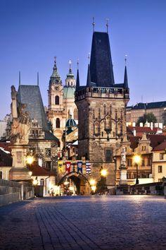 Prague, Czech Republic - small and enchanting