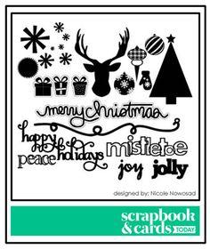 Scrapbook & Cards Today - Canada's scrapbooking magazine - free cut files
