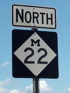 Northern Michigan: M-22 my favorite place