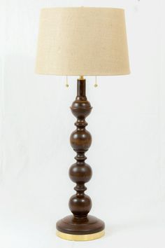 Cherry Table Lamp A. Thomas Original by ThomasFineWoodworks Engineered Hardwood Flooring, Hardwood Floors, Brazilian Cherry Floors, Real Wood Floors, Wood Lathe, Diy Wood Projects, Fine Woodworking, Red Oak, Wood Turning