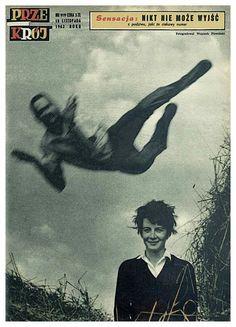 Przekrój- okładka z 1962 roku- Wojciech Plewiński-POLAND