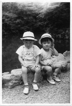 with Atsushi in1964