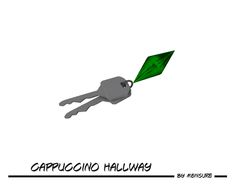 Cappuccino Hallway Keys by mensure. Found in TSR Category 'Miscellaneous'