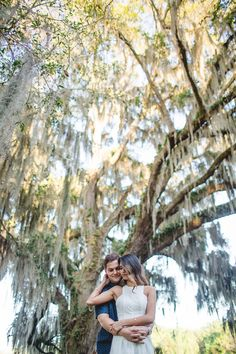 It doesn't get much better than that! See more on Savannah Soiree. http://www.savannahsoiree.com/journal/engagement-session-at-the-ford-plantation