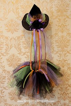 Simple Dimples: Witch tutu tutorial